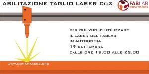 Corso di abilitazione al Taglio Laser @ Fablab Roma Makers Garbatella | Roma | Lazio | Italia