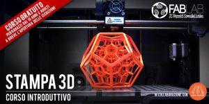 Corso Gratuito di Stampa 3D @ Fablab Frezzotti Corradini | Latina | Lazio | Italia
