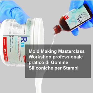Mold Making MasterClass, Workshop Professionale Pratico di gomme siliconiche per stampi @ Spazio Chirale   Roma   Lazio   Italia